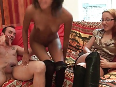 FFM Anal casting young..
