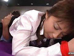 Bonny Asian milf gets her..