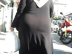 hijab arab huge butts omg. 2..