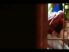 Housewife laving video taken..