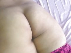 Chubby ass Indian wife -..