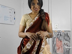 HornySouth Indian sister in..
