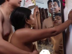 Indian Housewife Was Caught..